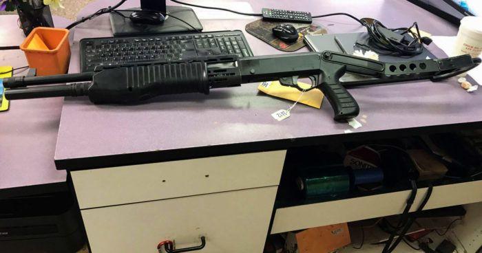 Раритетное оружие оставленное в ломбарде