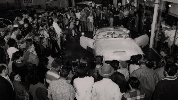 The Golden Sahara II - самый продвинутый автомобиль 1950-х