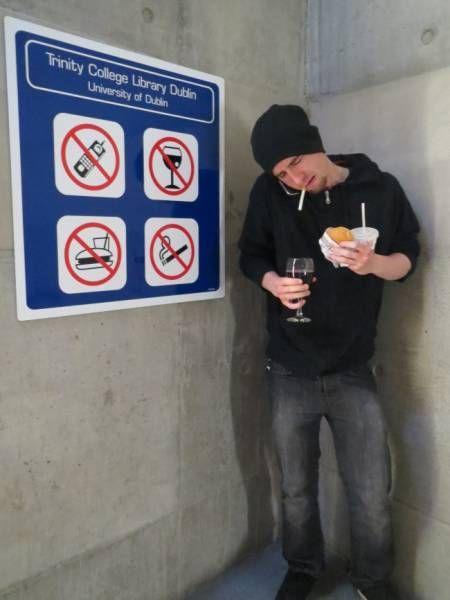 Эти люди плевать хотели на правила