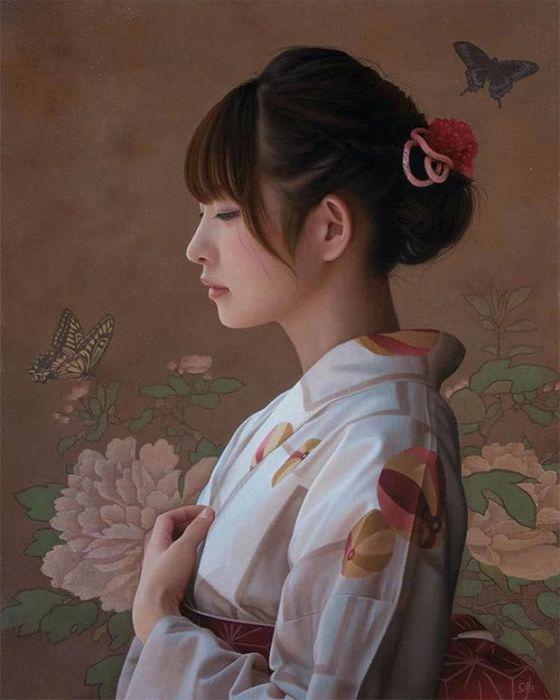 Гиперреалистичные портреты от Ясутомо Ока