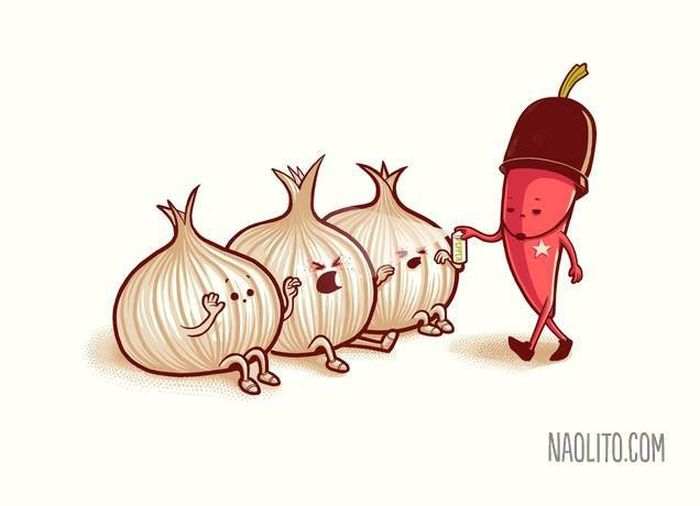 Саркастичные иллюстрации от Начо Диаса