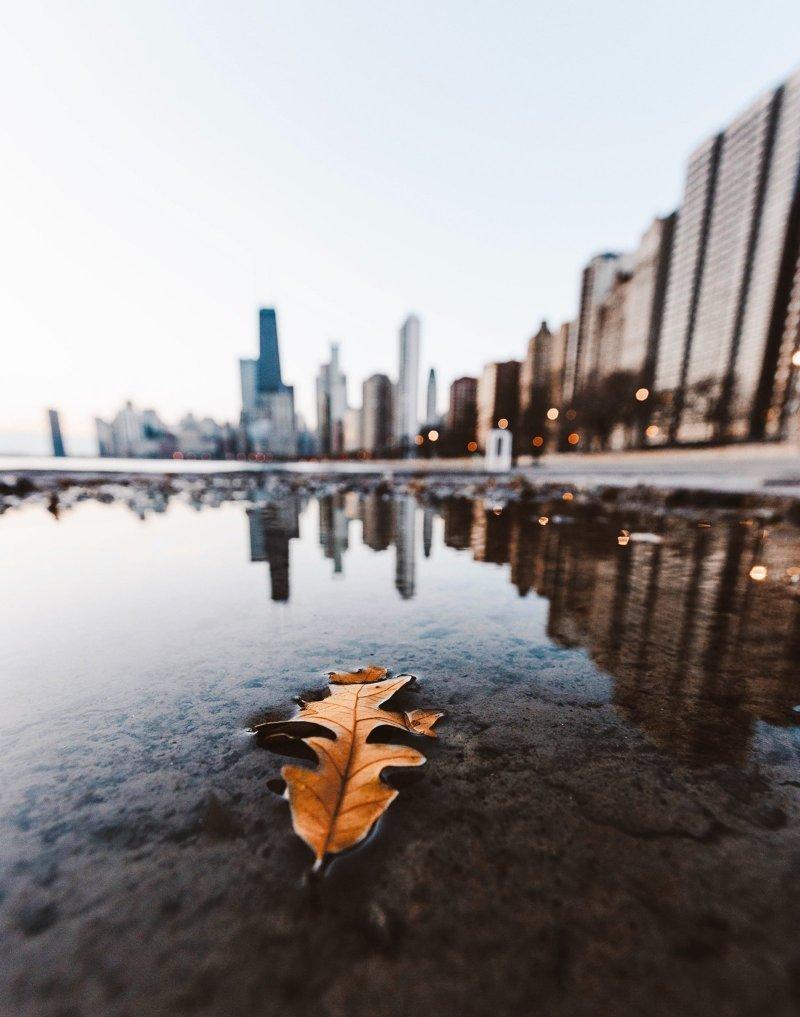 Городские пейзажи от молодого американского фотографа