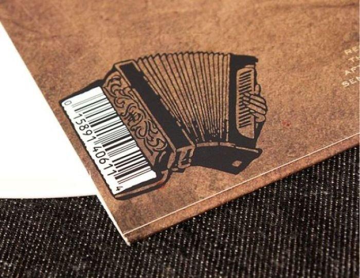 Креативный и необычный дизайн штрих-кодов