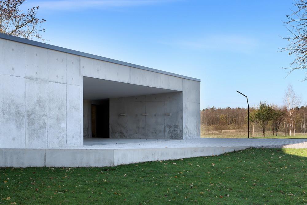 Модернистский дом в Латвии