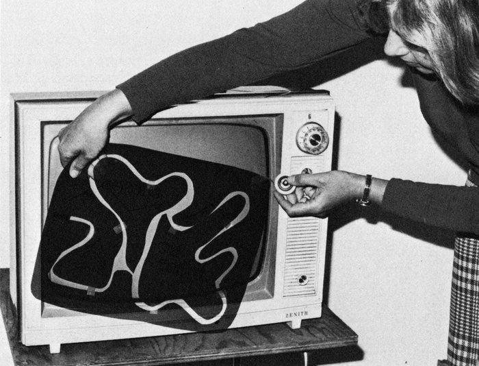 Редактирование уровней видеоигр в 70-е