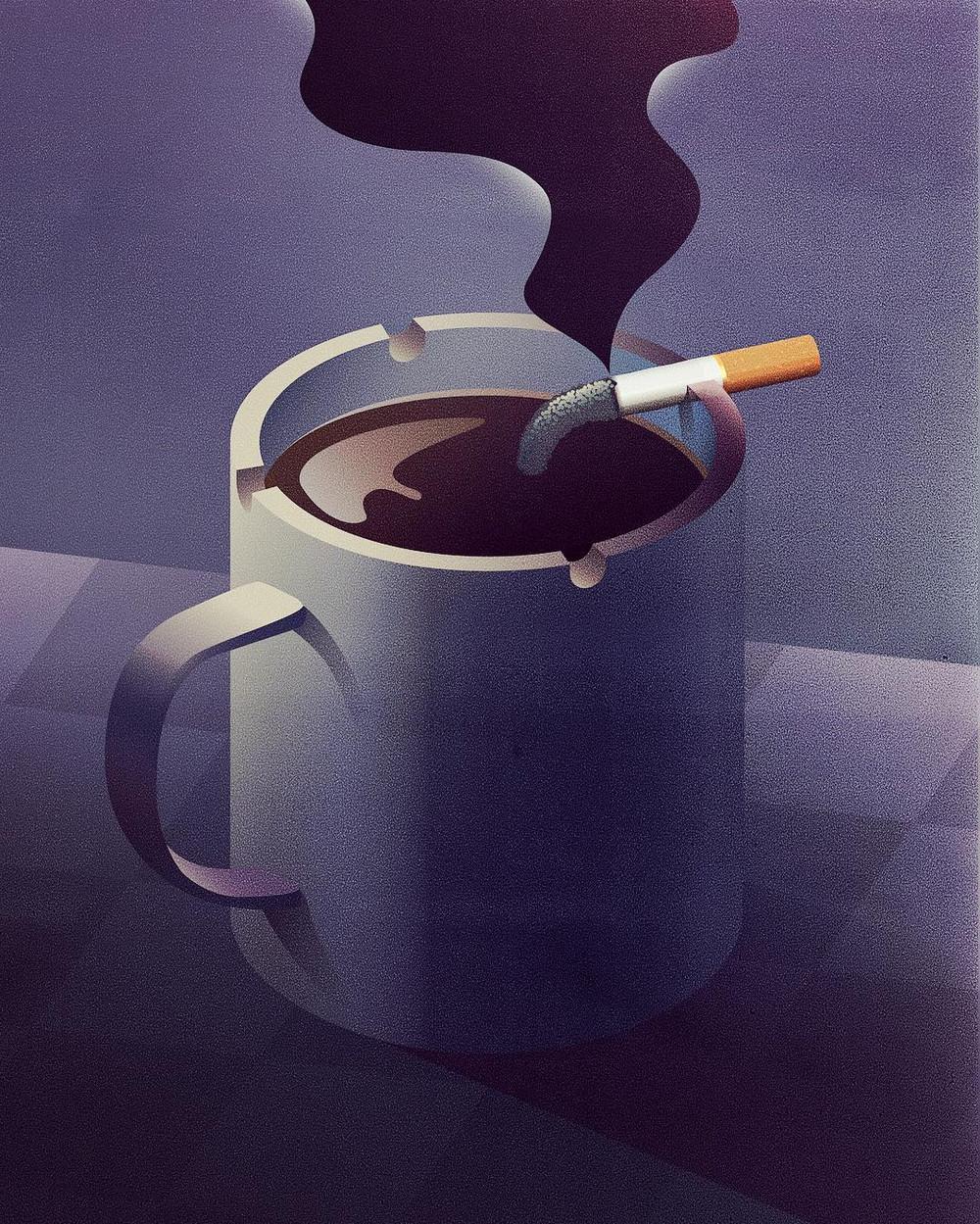 Концептуальные векторные иллюстрации от Яна Зимена