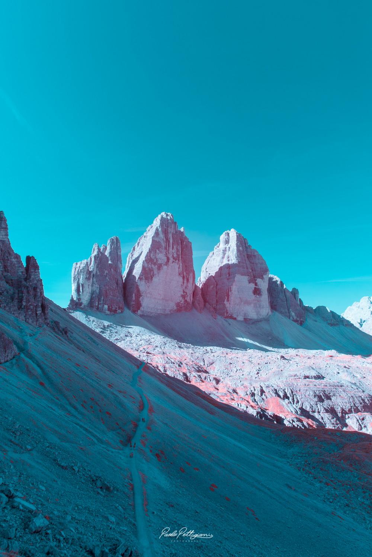 Доломитовые Альпы в инфракрасном цвете от Паоло Петтигиани