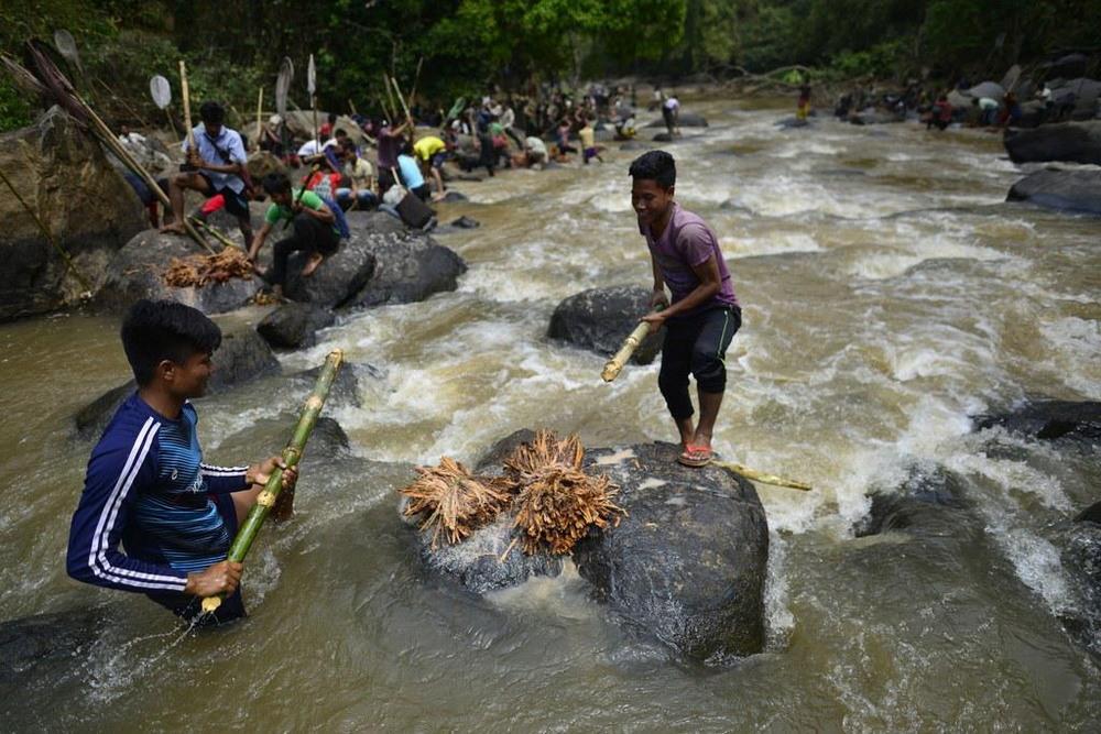 Как ловят рыбу в индии