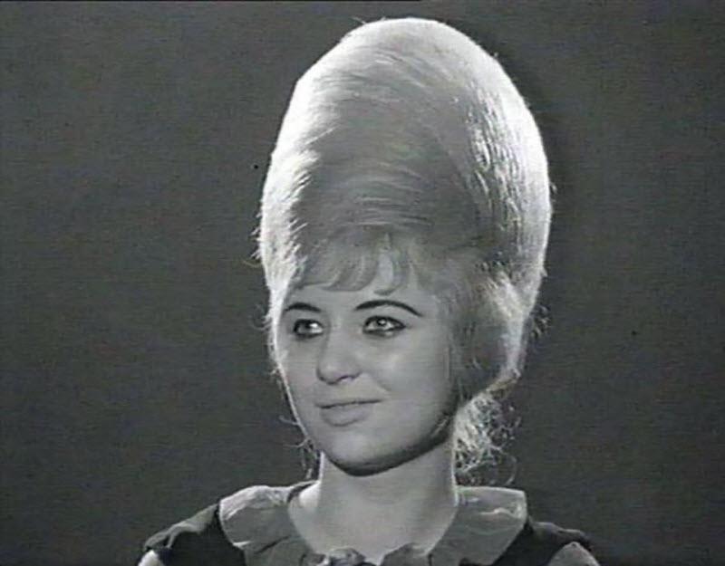 Невероятно роскошная шевелюра из 1960-х
