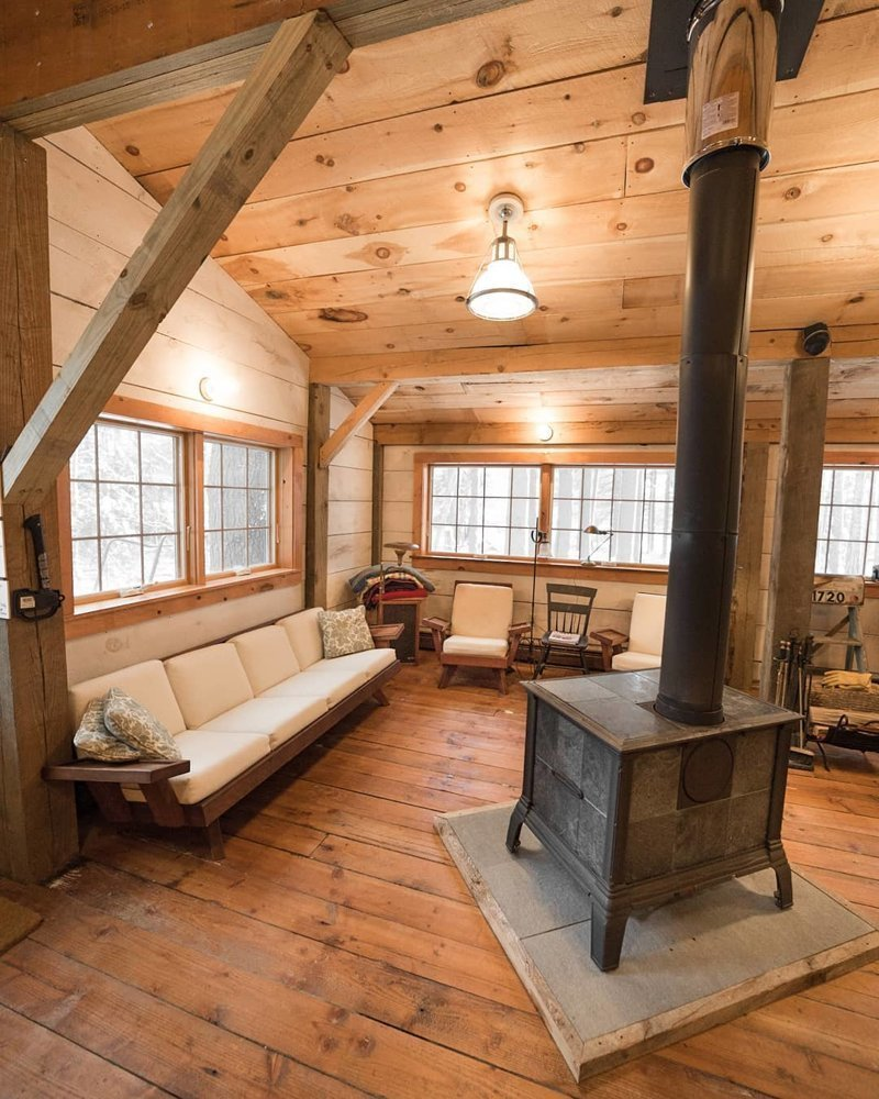 Уютные деревянные интерьеры, в которых хочется оказаться
