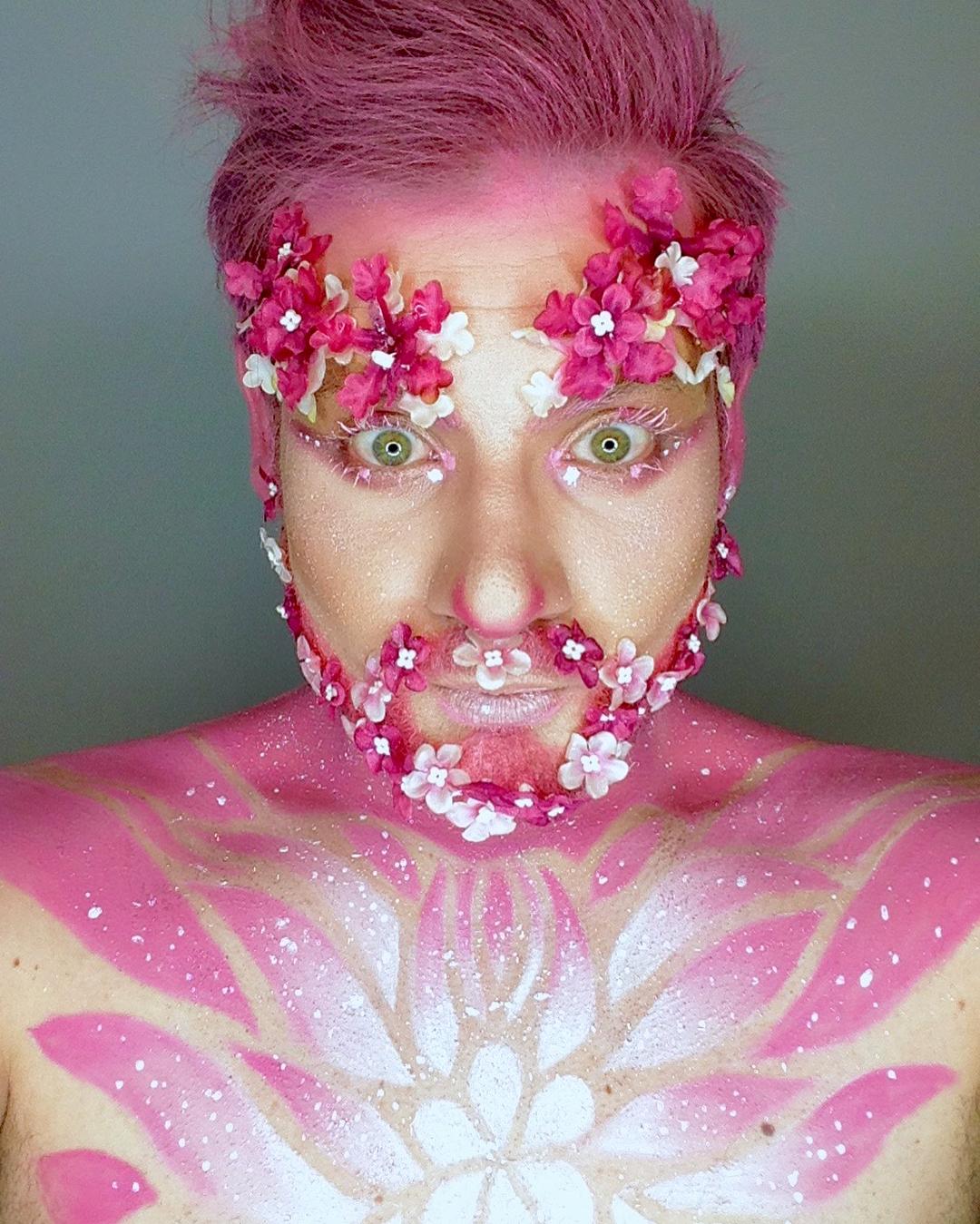 Мужчины и цветущие бороды