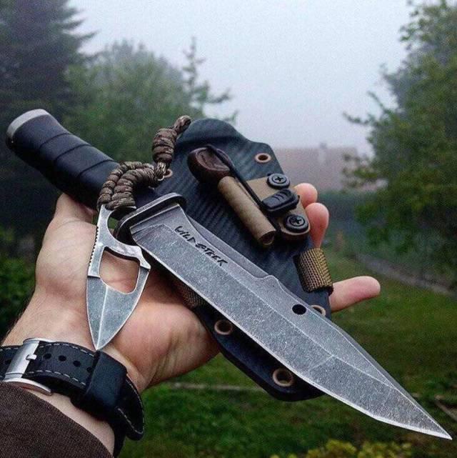 Необычные ножи, как произведение искусства