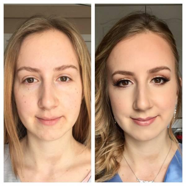 Чудеса и магия макияжа