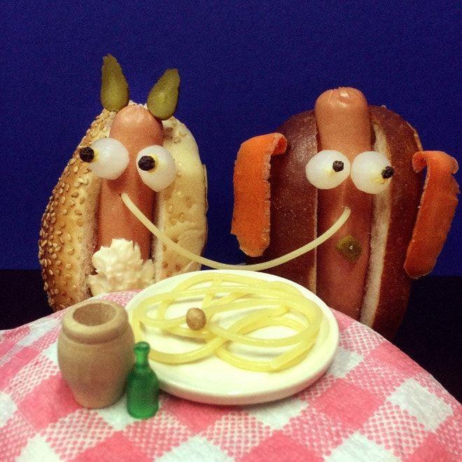 Если бы в известных фильмах играли сосиски и хот-доги