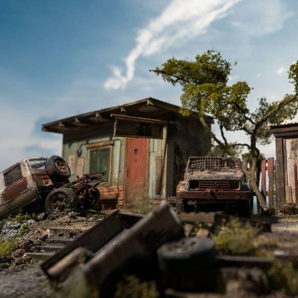 Потрясающие диорамы от малазийского художника Эдди Путера