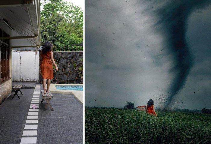 Сказочные истории на основе обычных фото с заднего двора