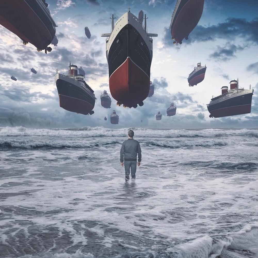 Сюрреалистические миры в работах Евгения Соловьева