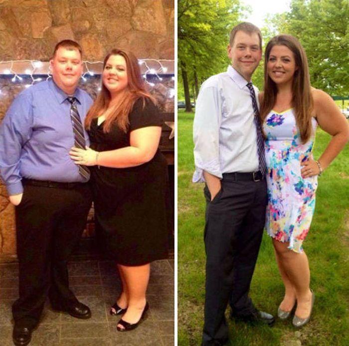 Пары, поборовшие лишний вес