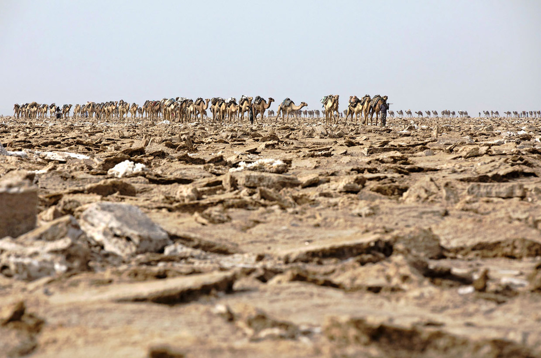 Впадина Данакиль - самая горячая точка Земли