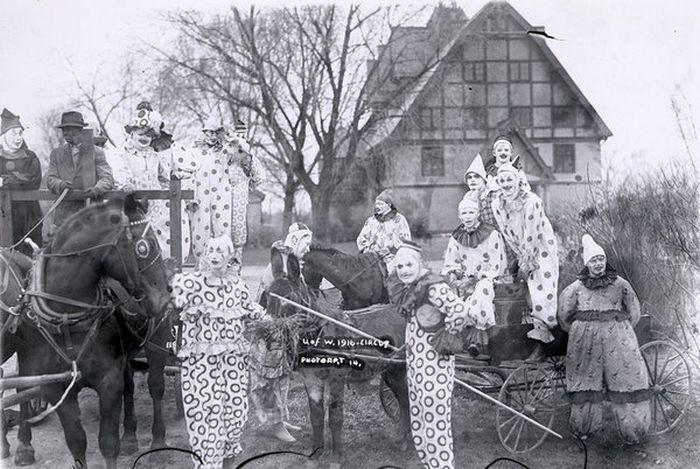 Жутковатые цирки прошлых лет