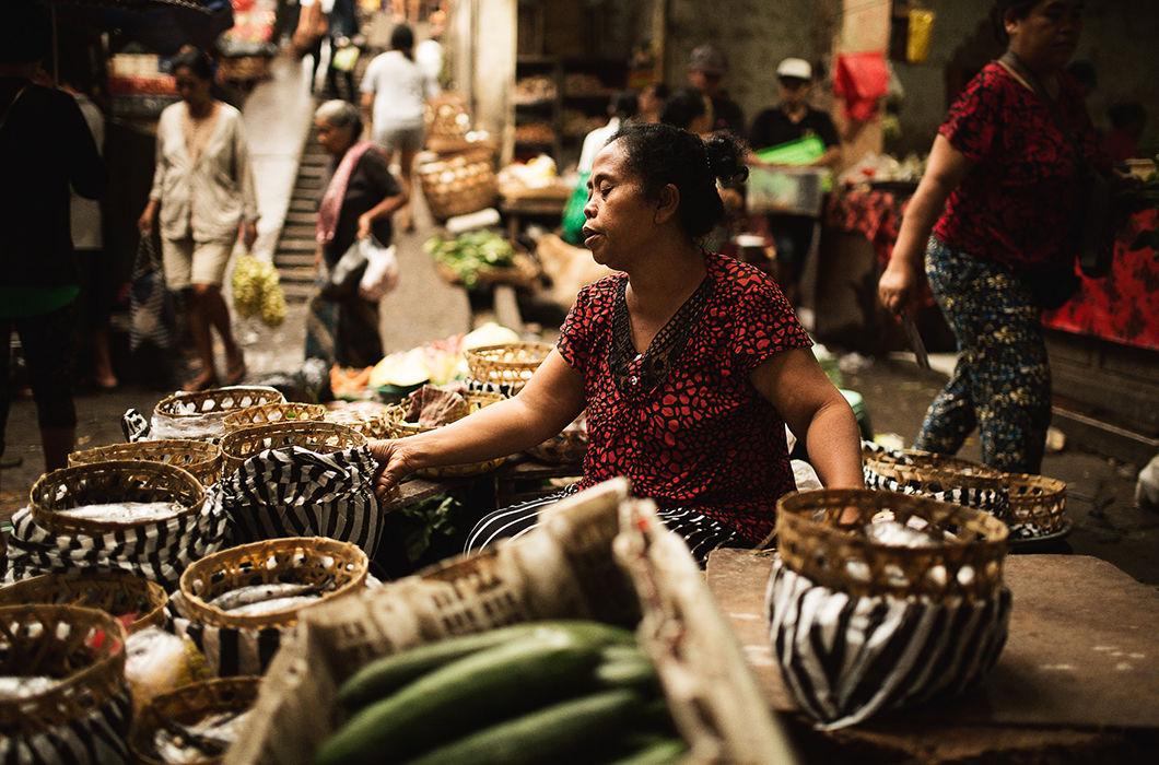 Фотопроект о повседневной жизни острова Бали