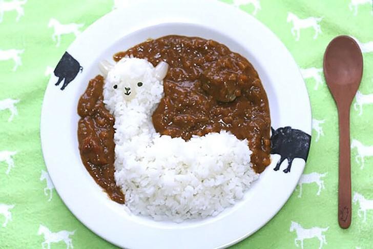 Милая японская еда