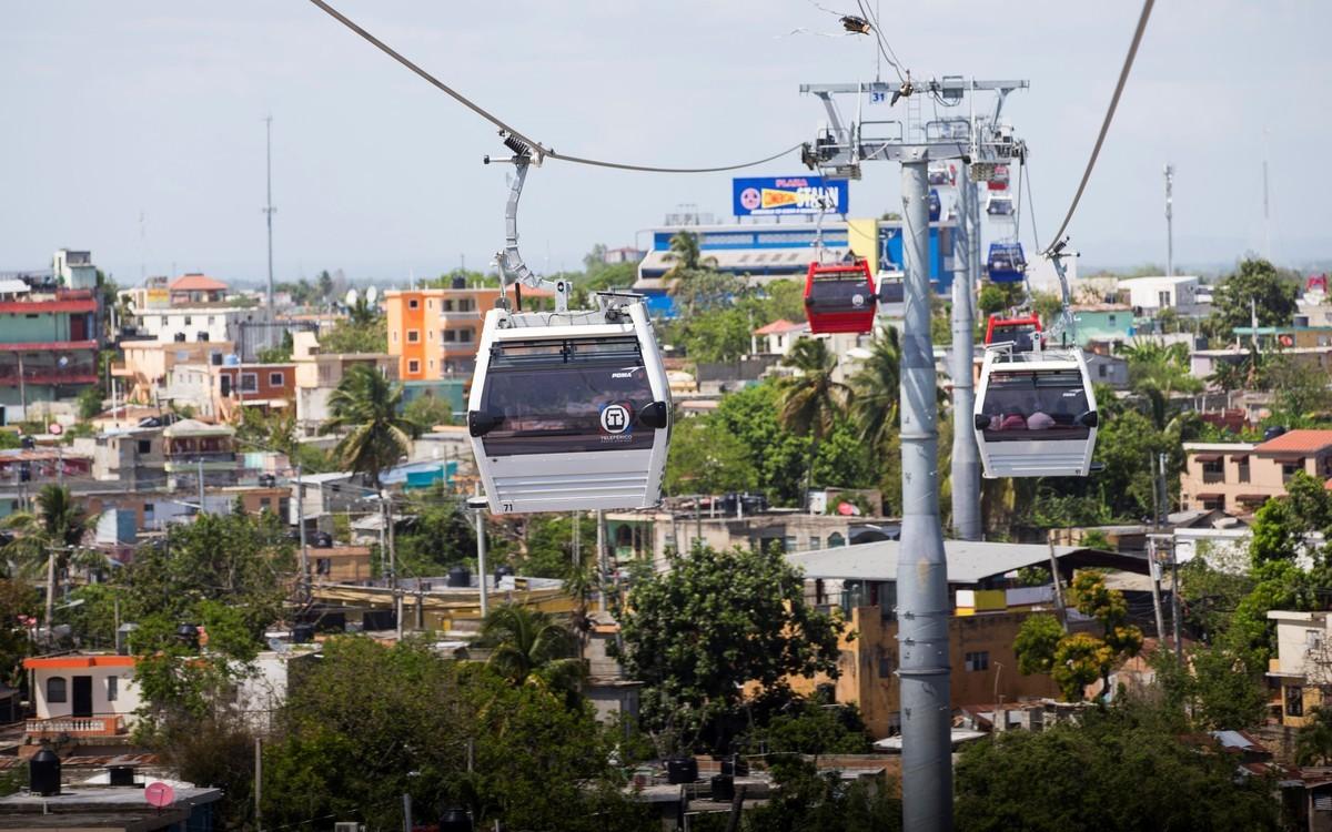 Канатная дорога в Доминиканской Республике