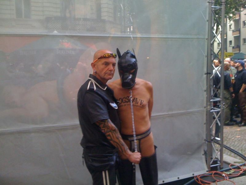Персонажи на БДСМ-ярмарке в Берлине
