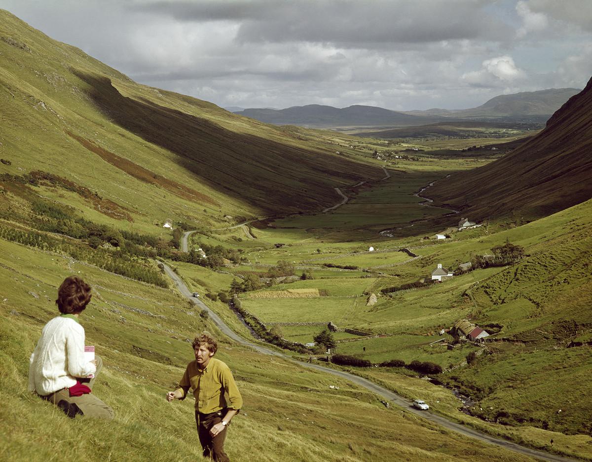 Яркие ирландские открытки из коллекции Джона Хайнда