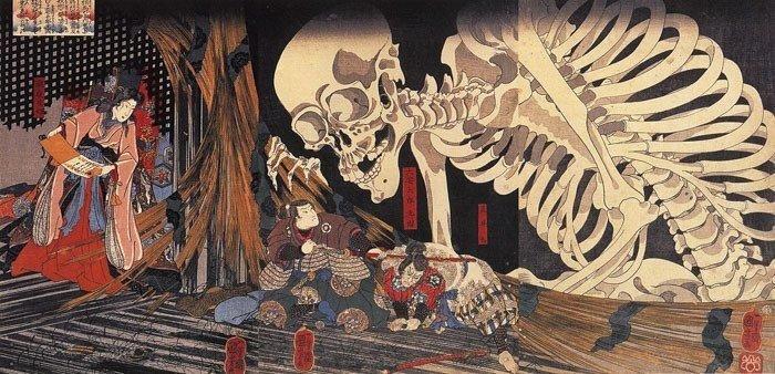 11 японских мифологических персонажей, которые лишат сна даже взрослых