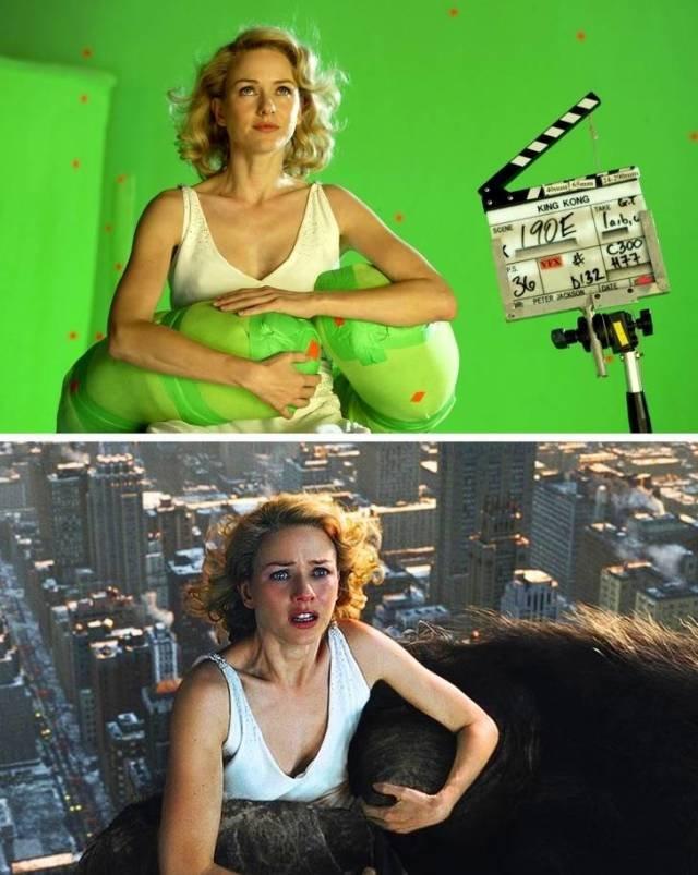Кадры со съёмочных площадок известных фильмов