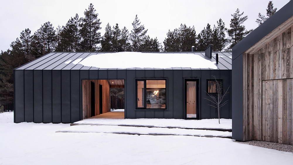 Небольшой загородный дом в Латвии