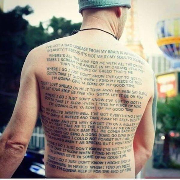 Неудачные татуировки, которые можно было и не делать