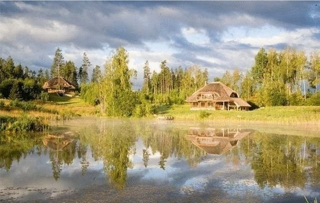 Аматциемс - современный эко-поселок в Латвии