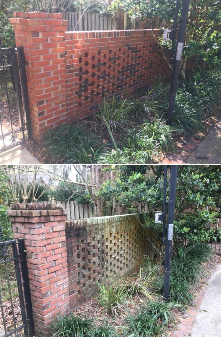 Мойка высокого давления: до и после очистки