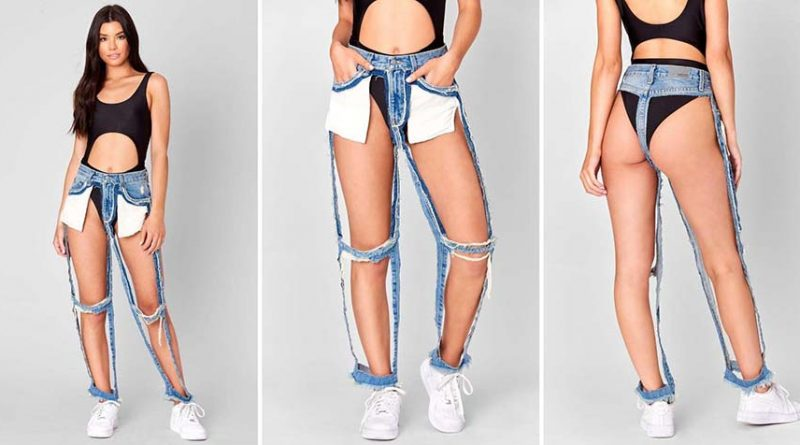 Новый формат джинсов: убрано всё лишнее