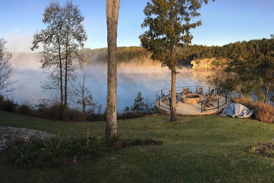 Ранчо в живописном месте штата Алабама