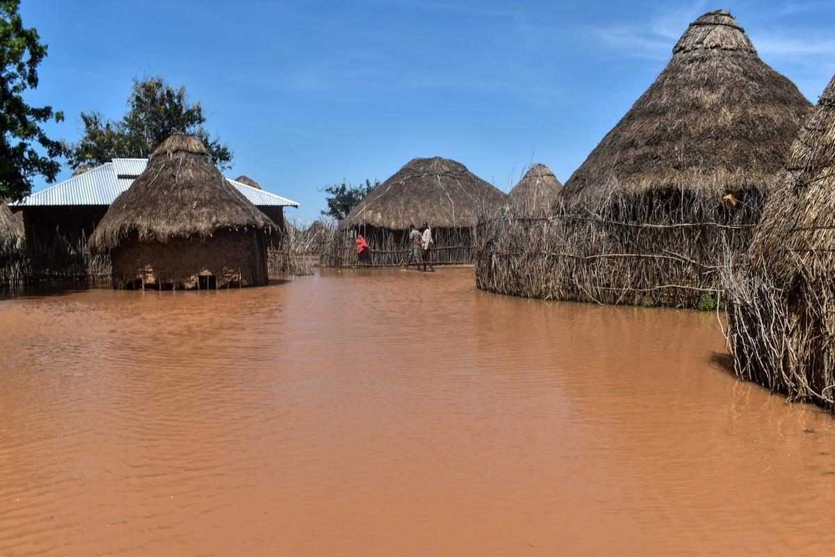 Сильные наводнения в Кении из-за обильных дождей