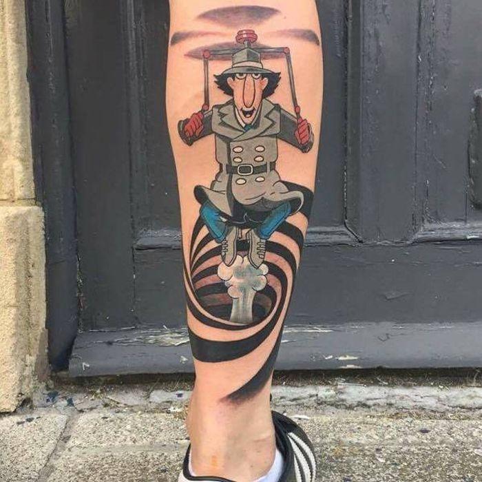 Детские татуировки взрослых людей