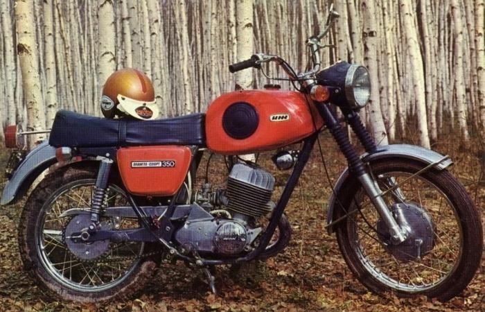 Популярная советская мототехника