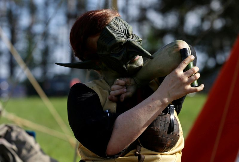 Фанаты World of Warcraft собрались в чешском лесу