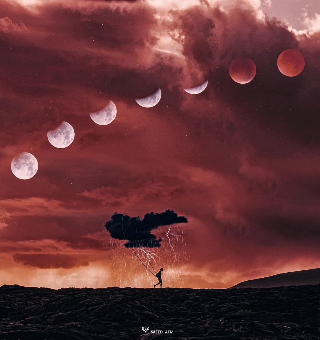 Сюрреалистические фотоманипуляции от Саида Афхамзаде