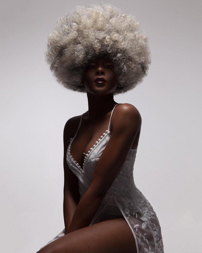 Африканская красота и прически от фотографа Люка Ньюджента