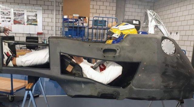 Как выглядит кокпит болида Формулы-1