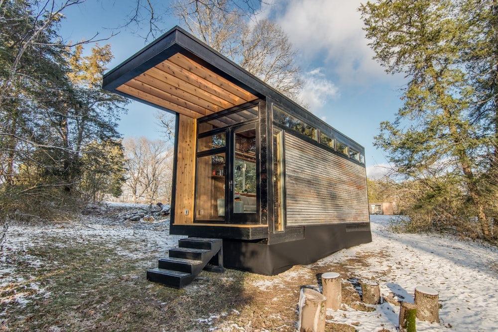 Суперкомпактный домик со всем необходимым