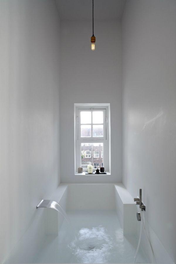 Необычное исполнение ванной комнаты