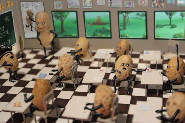 Правдивые комиксы о буднях арахисовых человечков