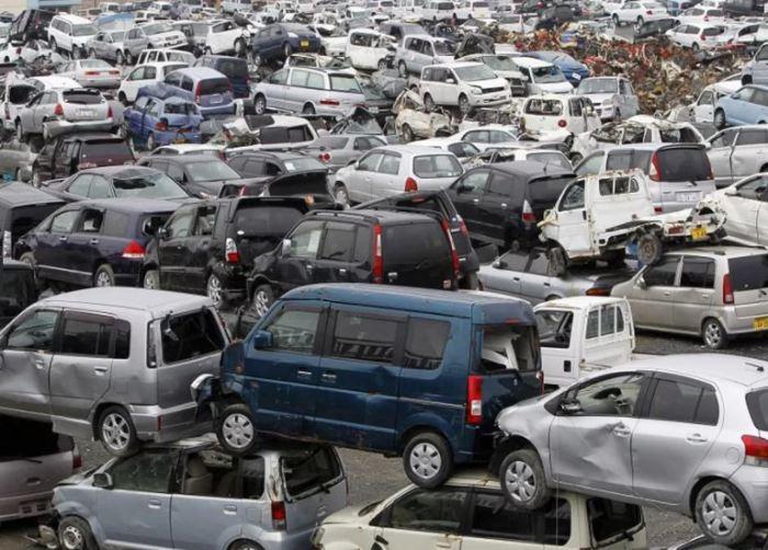 Что стихия творит с автомобилями