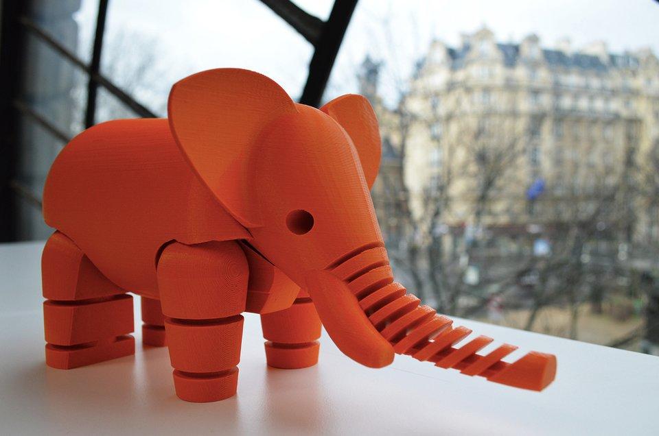 Впечатляющие вещи, созданные с помощью 3D-принтера