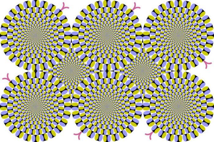 Забавные оптические иллюзии
